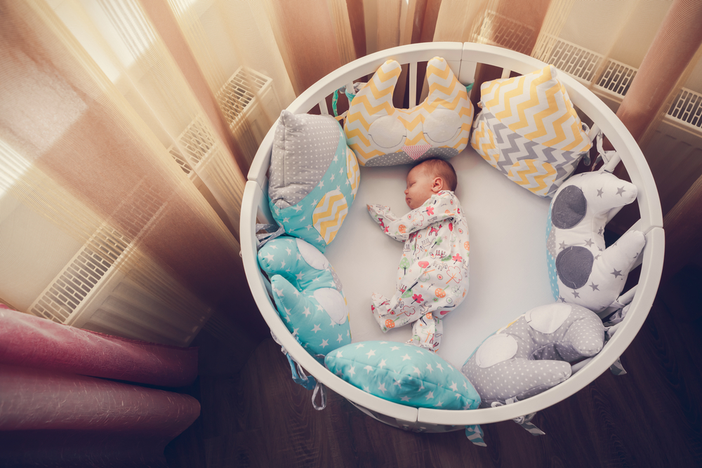 There Shouldnt Be Anything In The Cot With The Baby From Www Shutterstock Com