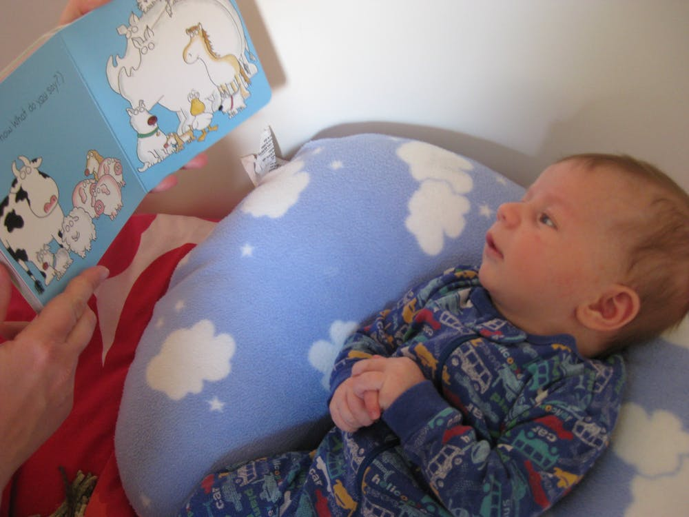 Brain Responses To Language In Toddlers >> For Baby S Brain To Benefit Read The Right Books At The Right Time