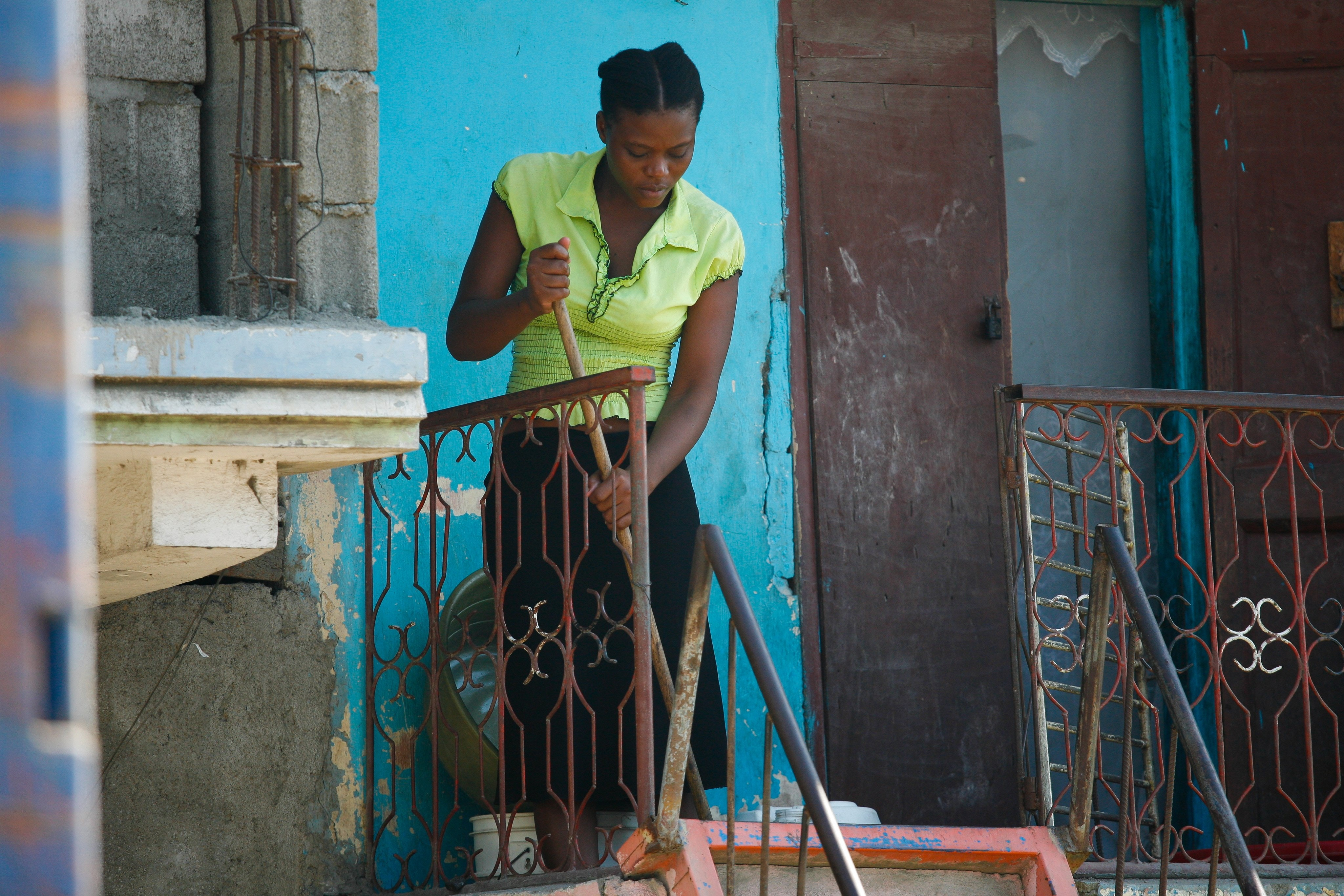 Haitian domestic worker, 2012. Women account for the majority of such workers yet they remain invisible. Photo credit: Alex Proimos/Flickr [Licensed under CC BY-SA]