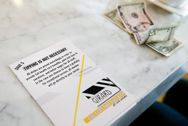 How the war on tipping harms customers