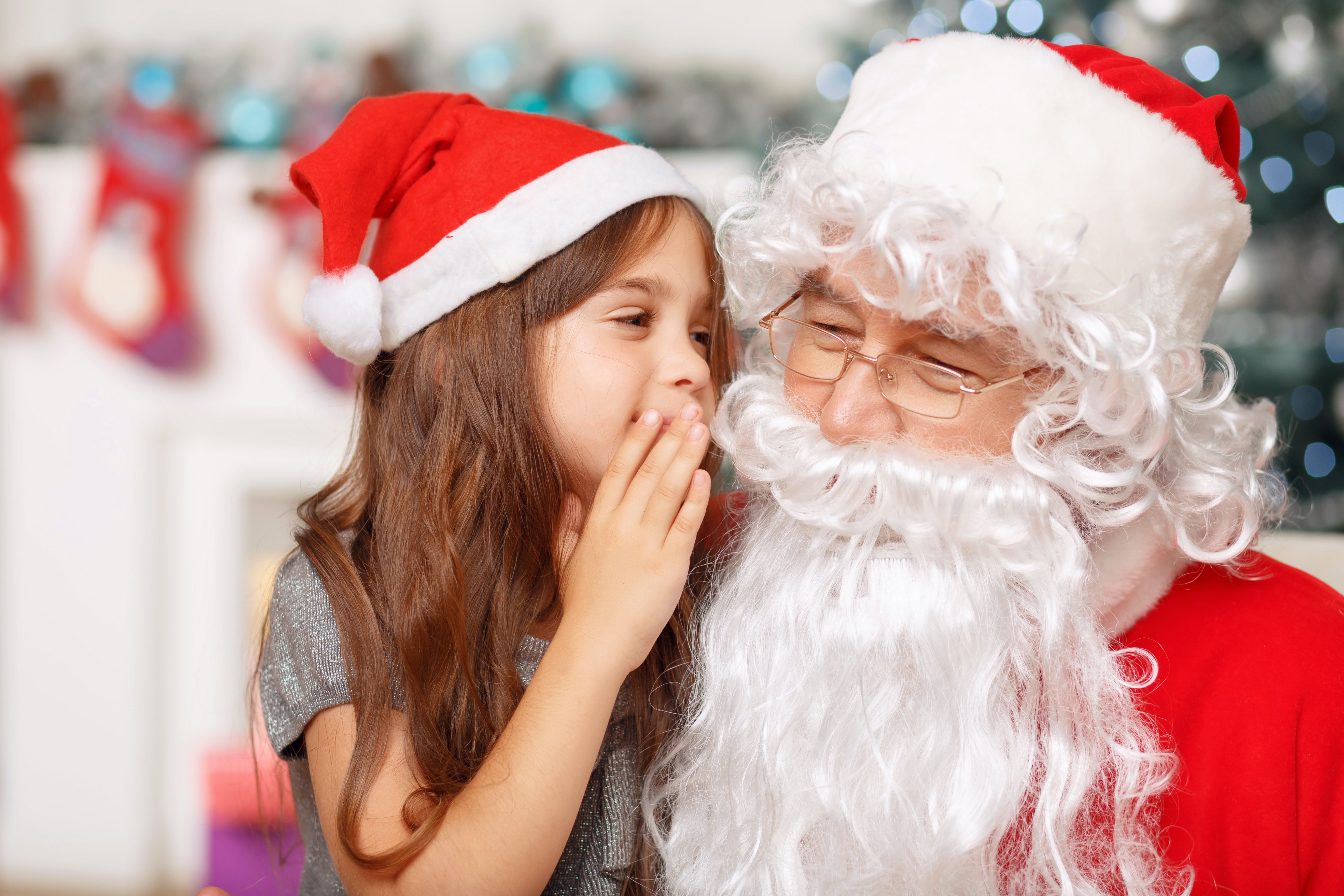 Developmental psychology suggests that fantastical beliefs in children are associated with positive developmental outcomes. And parents need not worry, children will bust the Santa myth themselves, when the time is right. (Shutterstock)
