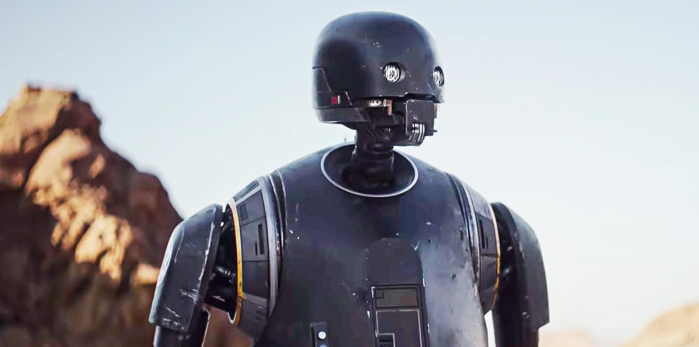 K2-SO in Rogue One Lucasfilm IMDB Star Wars robots droids