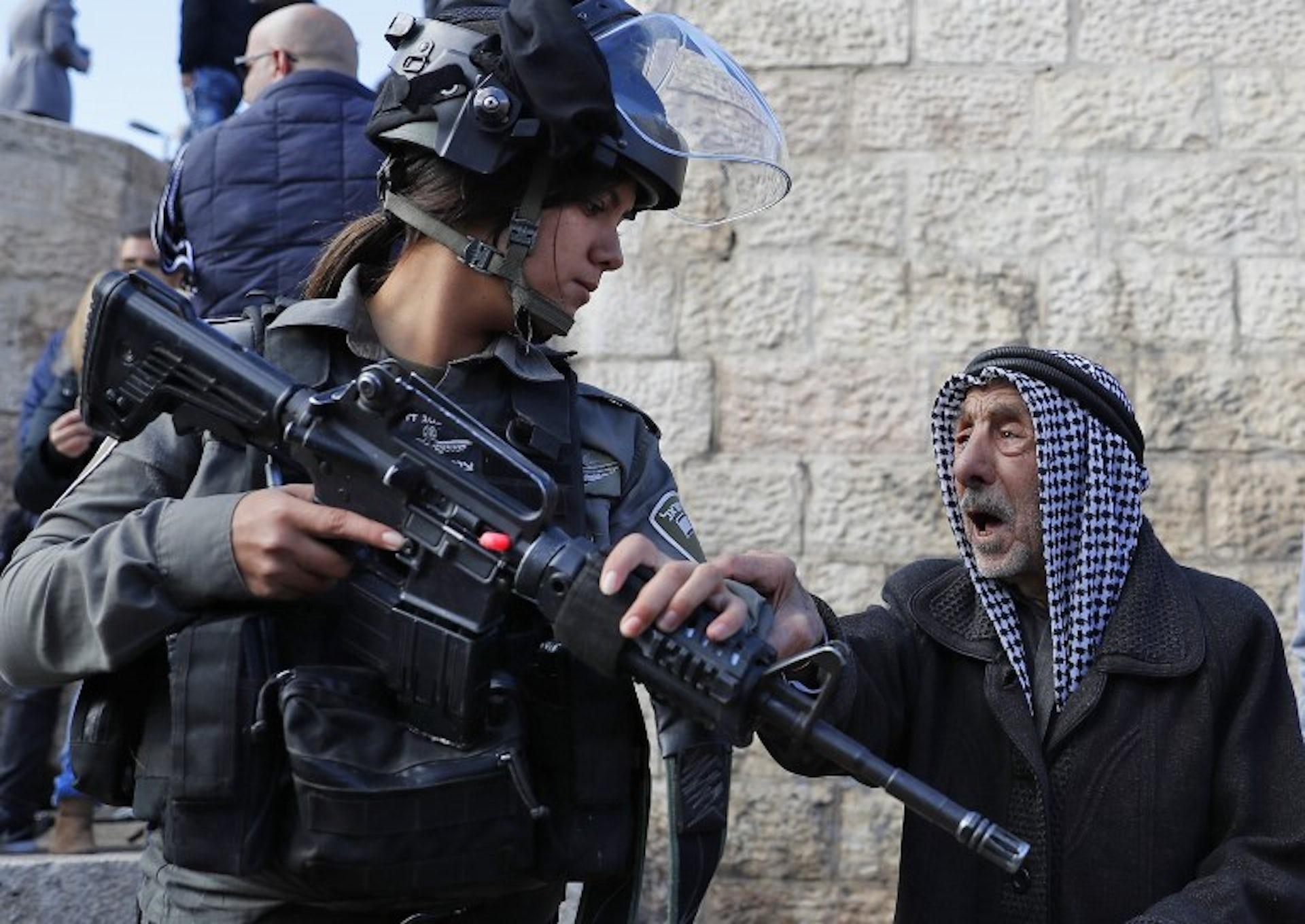 Jérusalem, Bethléem et la Cisjordanie manifestent contre la décision de Trump
