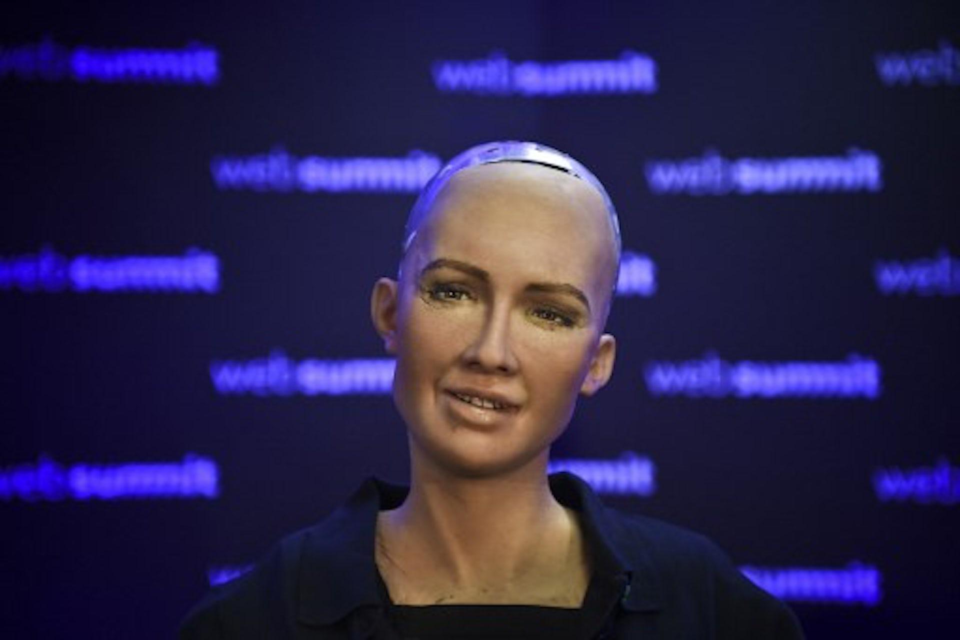 Le robot-humanoïde Sophia, révélateur de notre rapport à l'intelligence artificielle