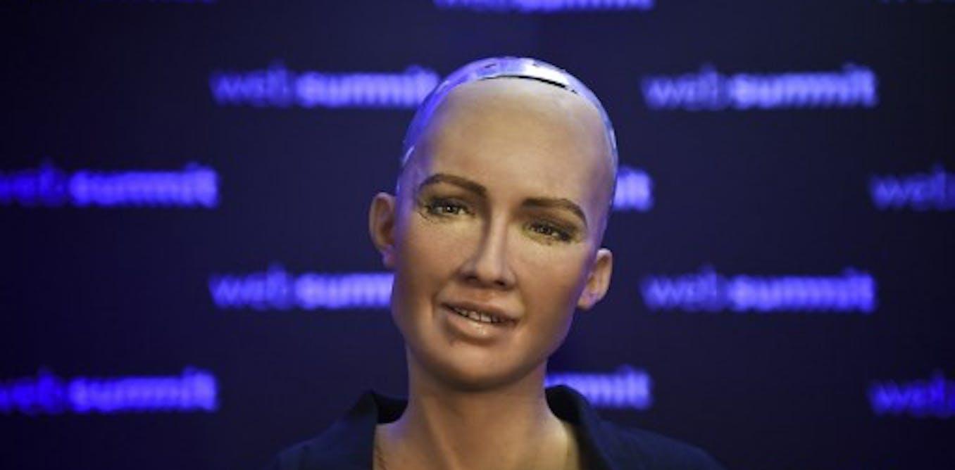 Le robot-humanoïde Sophia, révélateur denotrerapport àl'intelligence artificielle