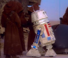 R5-D4, the malfunctioning droid of A New Hope Star Wars