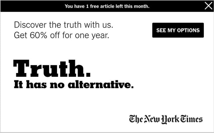 Post-truth politics and why the antidote isn't simply 'fact-checking' and truth