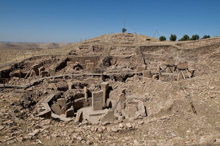 Site of Göbekli Tepe. Teomancimit