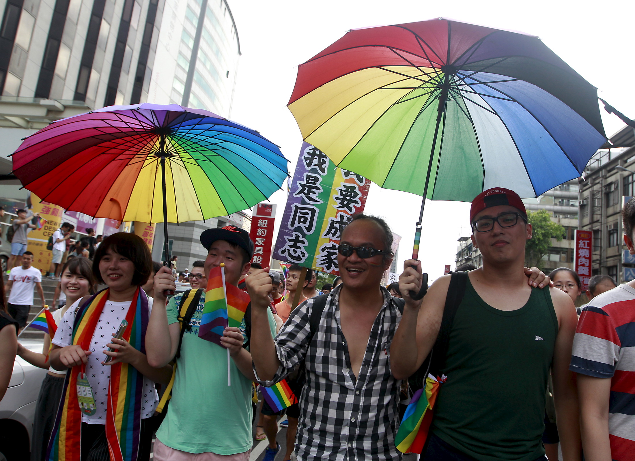 The rainbow in Asia and the fight for gay rights in our region