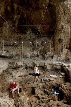 Hilazon Tachtit cave interior. Naftali Hilger
