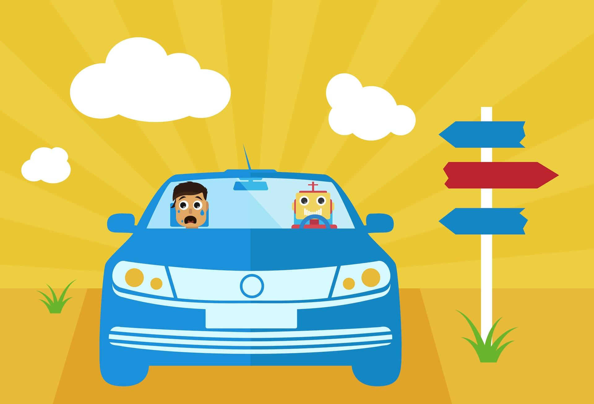 Félelmek az önvezető autózás kapcsán