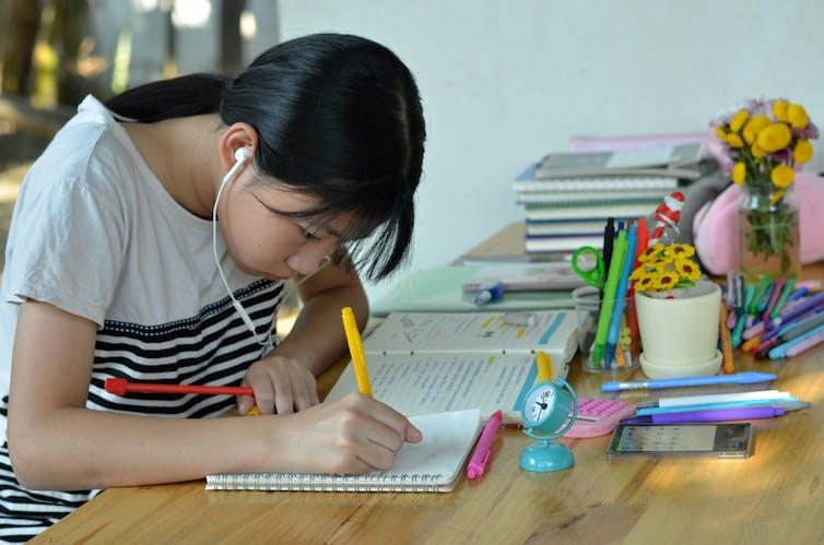 Effect of good study habits