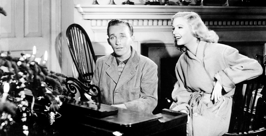Bing Crosby White Christmas Holiday Inn
