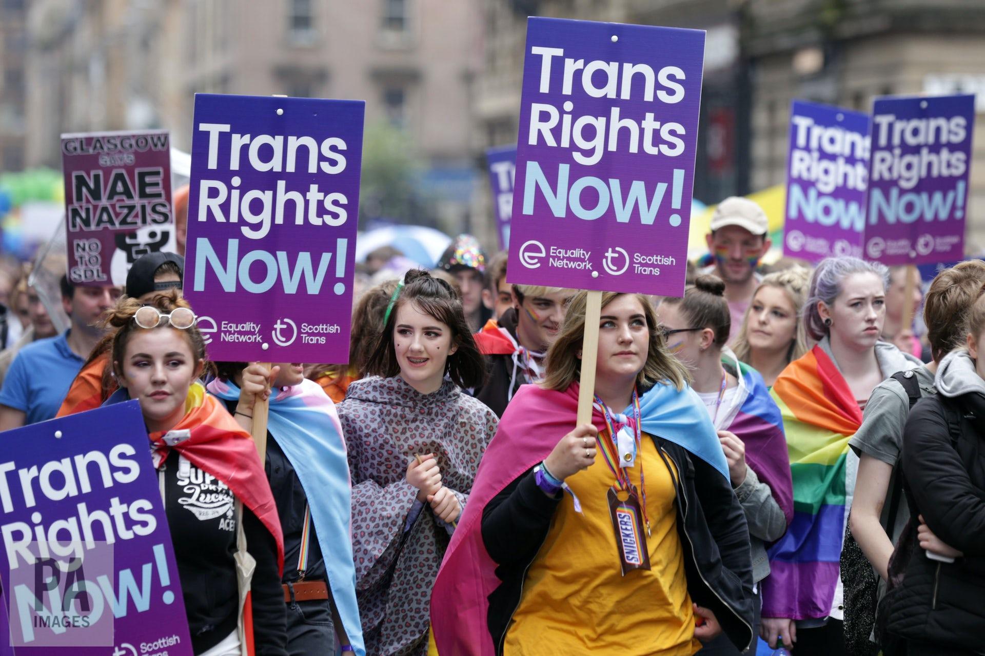 Transsexuals should cut it out original article