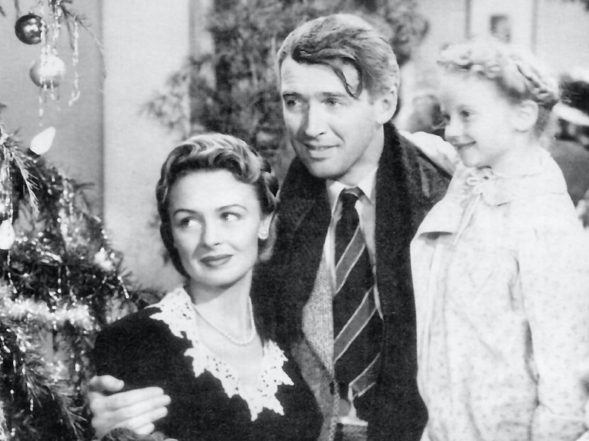 It's a Wonderful Life - James Steward and Donna Reed