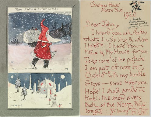 Father Christmas Letters Tolkien.J R R Tolkien S Christmas Letters To His Children Bring