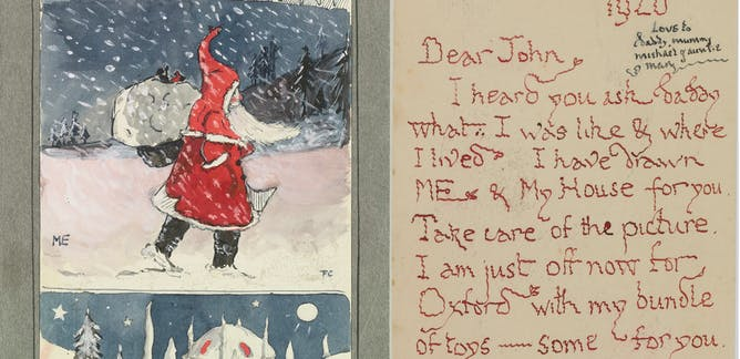 Father Christmas Letters Tolkien.Tolkien News Research And Analysis The Conversation
