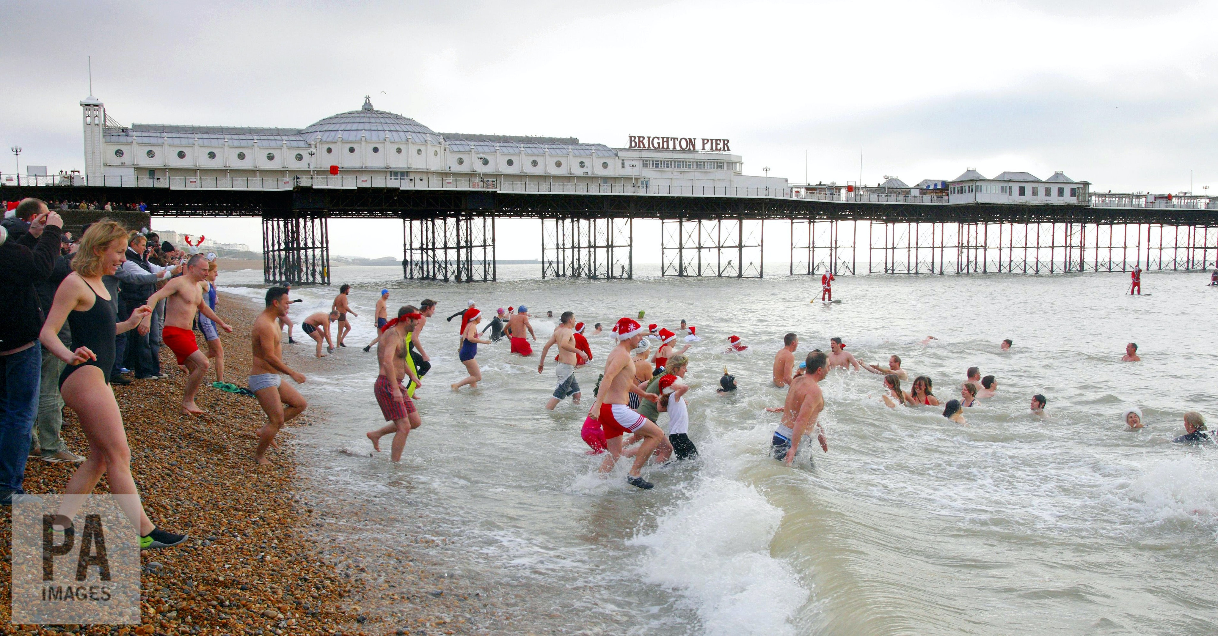 Is a cold water swim good for you, or more likely to send you to the bottom?