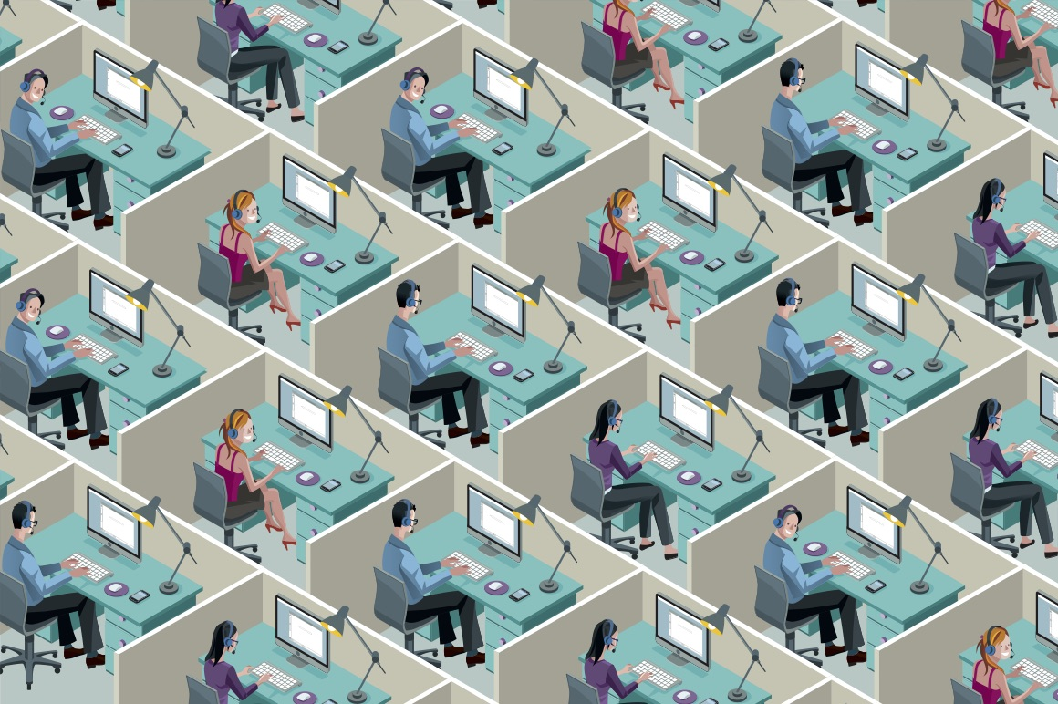 Open plan offices can actually work under certain conditions