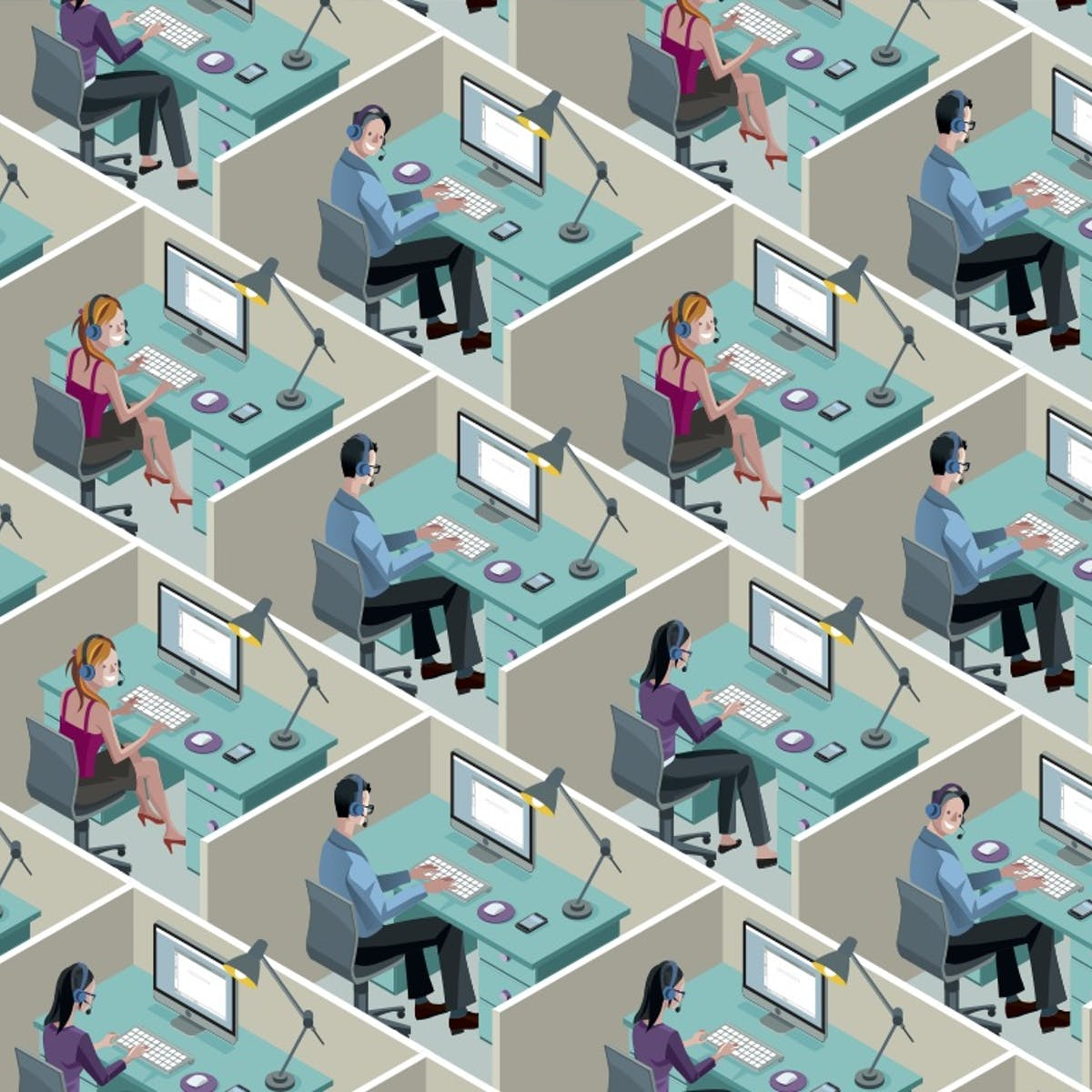 Big data could bring about workplace utopia – or the office