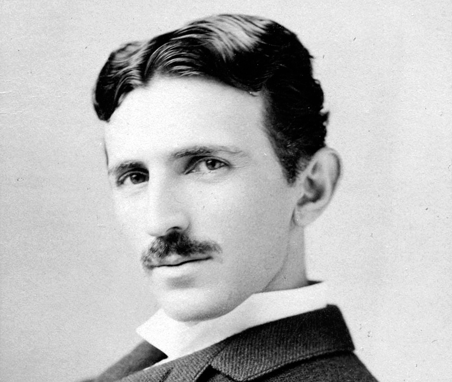 Nikola Tesla, electrical entrepreneur, circa 1893. Napoleon Sarony