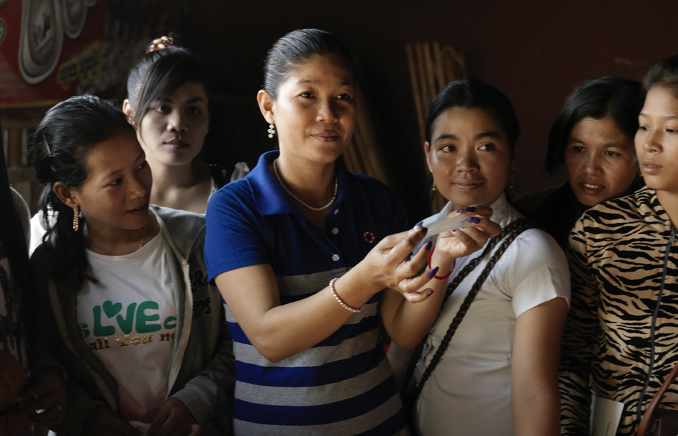 Sex workers in Cambodia face criminalisation, violence and discrimination. Photo Credit: UNAIDS