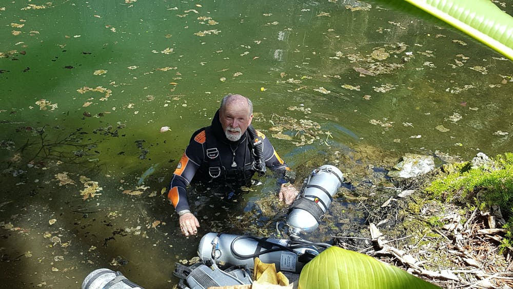 Scientist at work: I've dived in hundreds of underwater caves