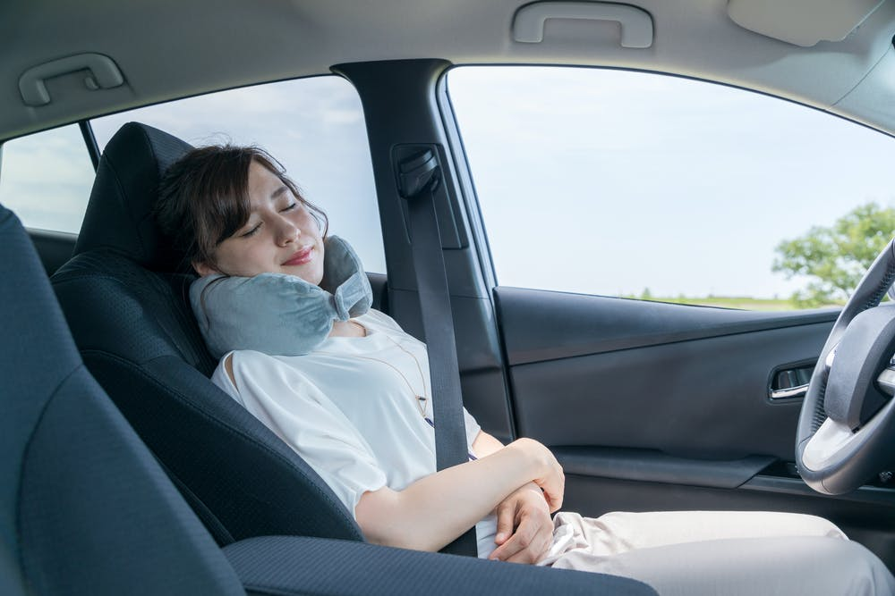 Sleeping In Car >> Autonomous Vehicles Could Help Millions Of People Catch Up On Sleep