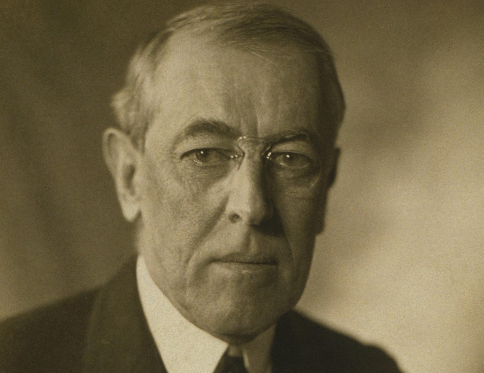 Woodrow Wilson's famous US speech makes a mockery of Donald Trump