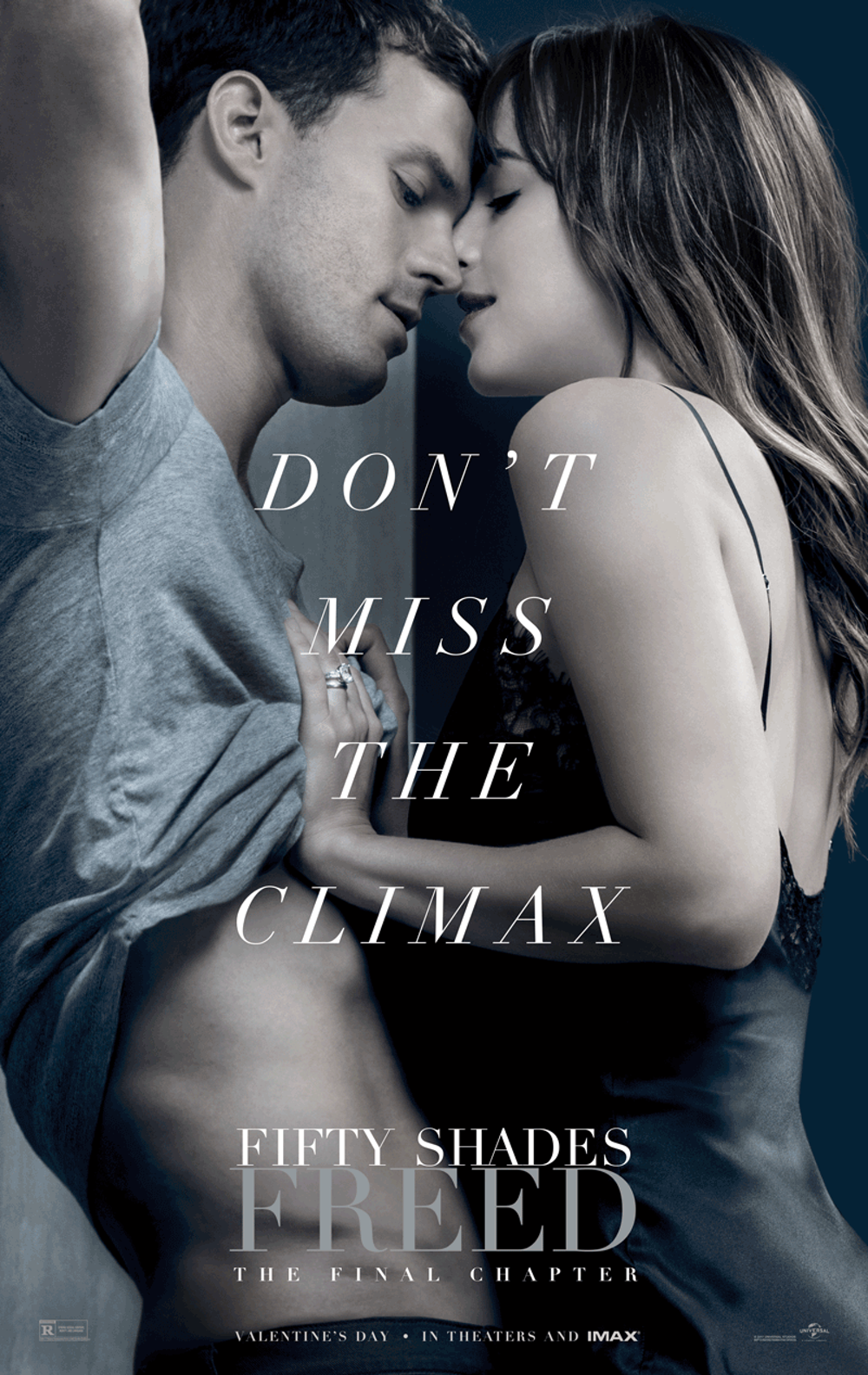 'Fifty Shades Freed' is the third film based on the steamy trilogy that  originated as a self-published work of fan fiction.