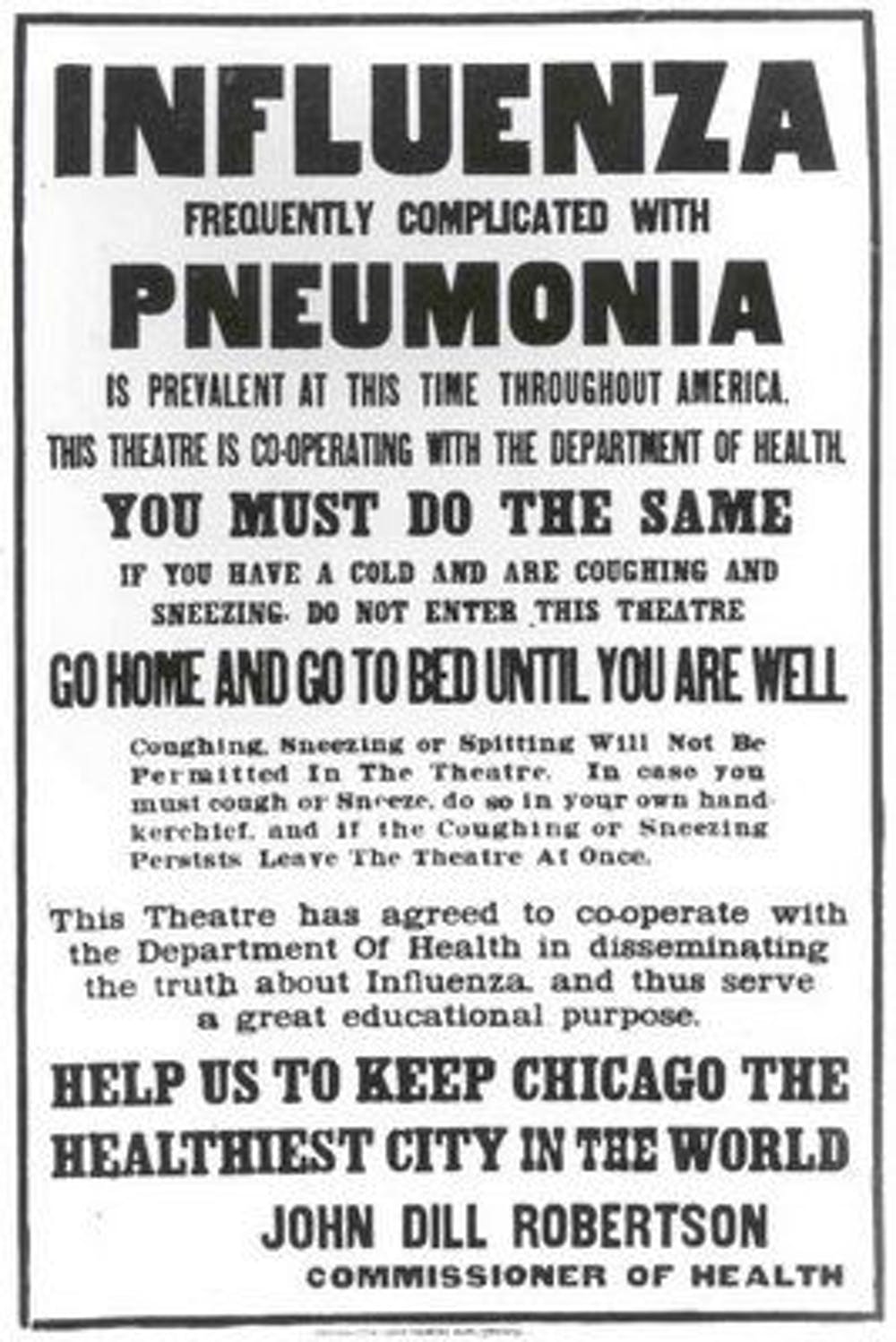 The Greatest Pandemic In History Was 100 Years Ago But Many Of