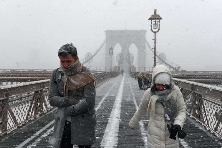 Explainer: 'bomb cyclones' – the intense winter storms that hit the US (and Australia too)