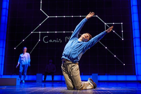 the curious incident of the dog in the night time trades deadpan for  the curious incident of the dog in the night time trades deadpan for  high octane