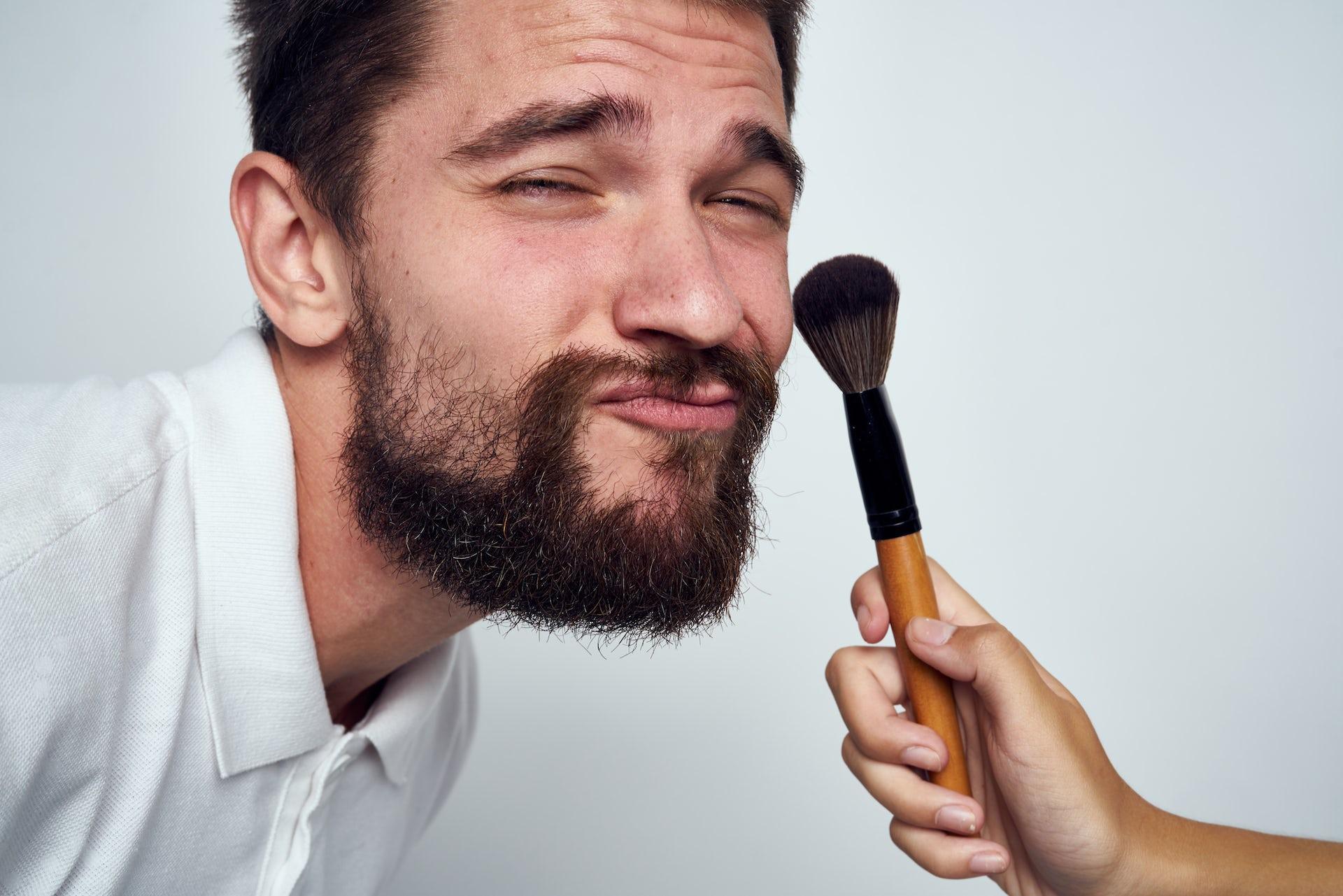 Men wearing makeup