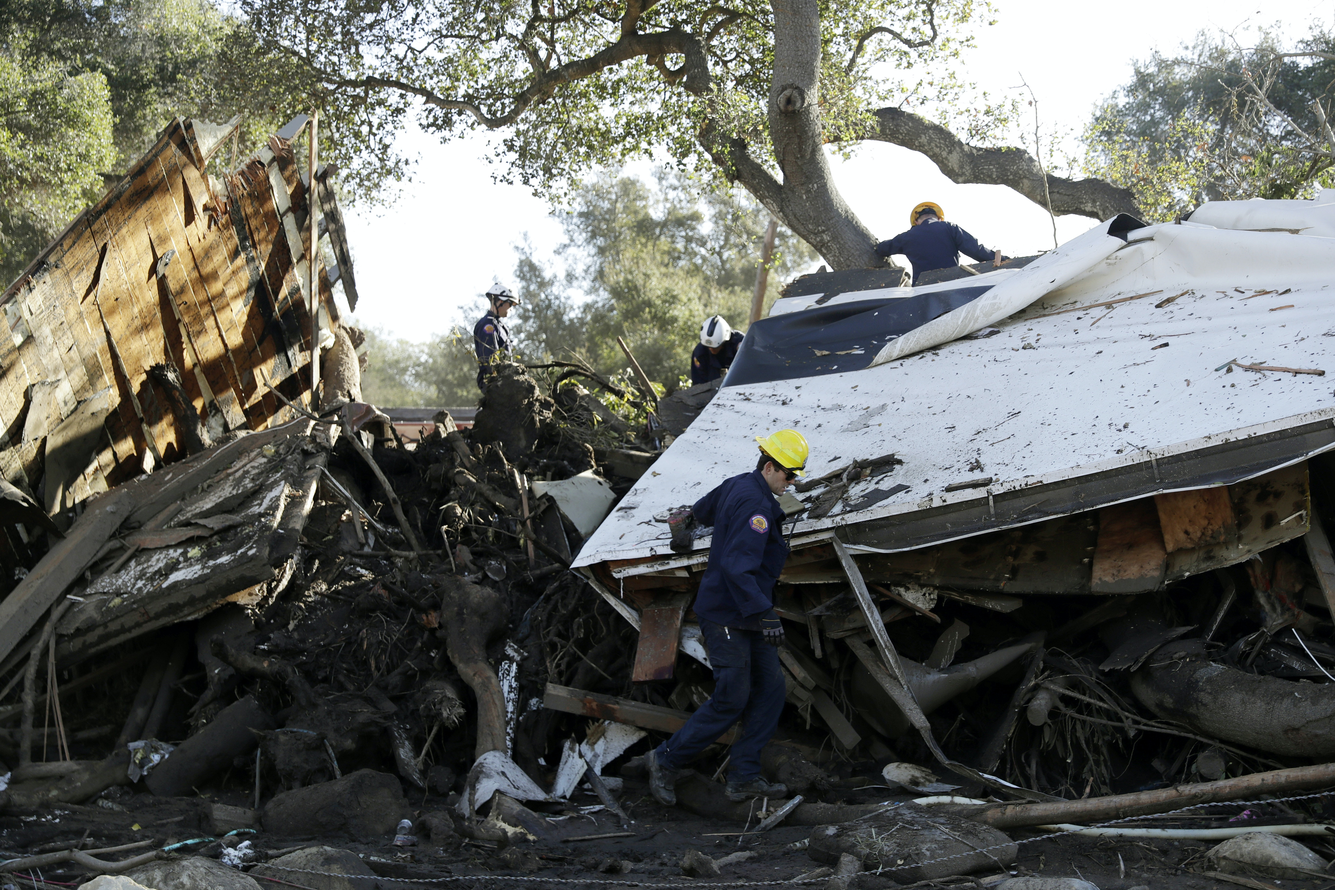 Deadly California mudslides show the need for