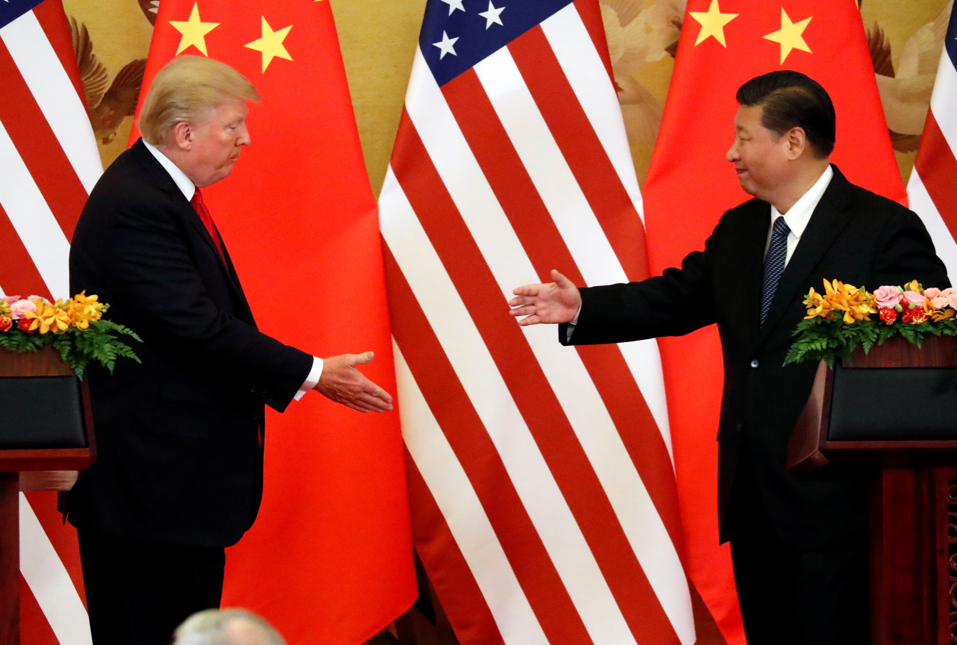 Trump considers big 'fine' over China intellectual property theft