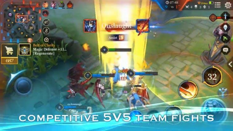 Tencent Honour of Kings game