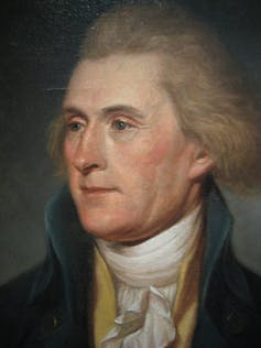 Thomas Jefferson: All men are created equal? Except slaves.