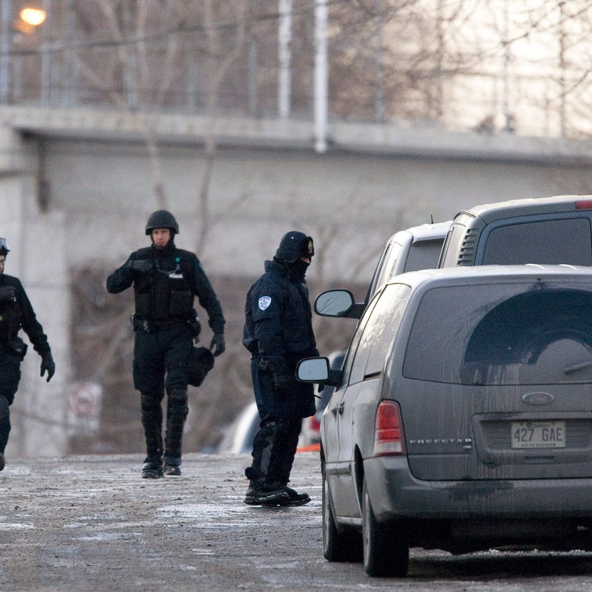 Rise of the SWAT team: Routine police work in Canada is now
