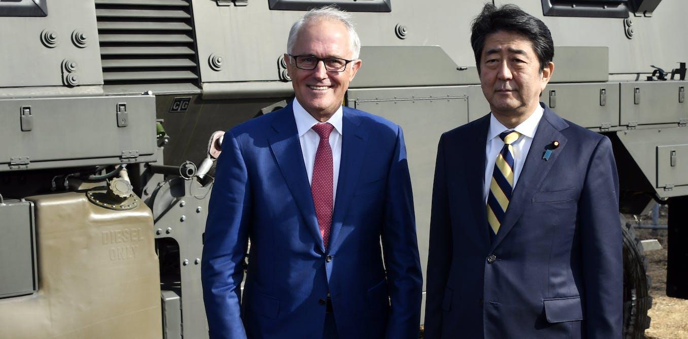 Turnbulls Tokyo Visit Draws Australia And Japans Defence Forces Closer