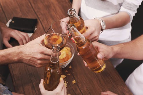 Young Australians are drinking less – but older people are still hitting the bottle hard