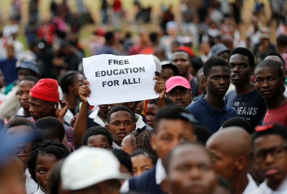 free higher education in south africa cutting through the lies and