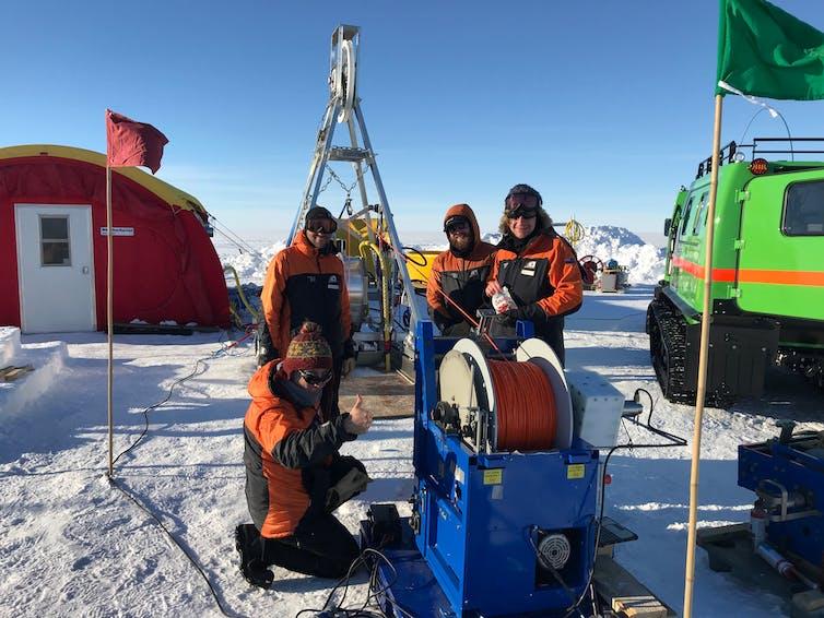 Climate scientists explore hidden ocean beneath Antarctica's largest ice shelf