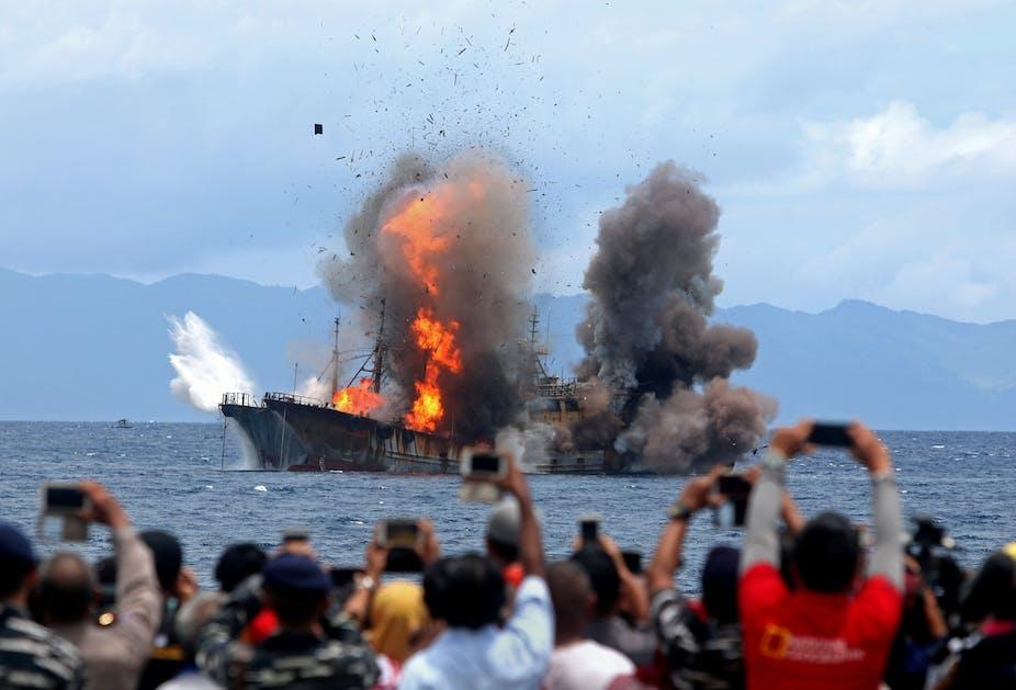 Penangkapan Ikan Ilegal Sengketa Laut Cina Selatan Picu