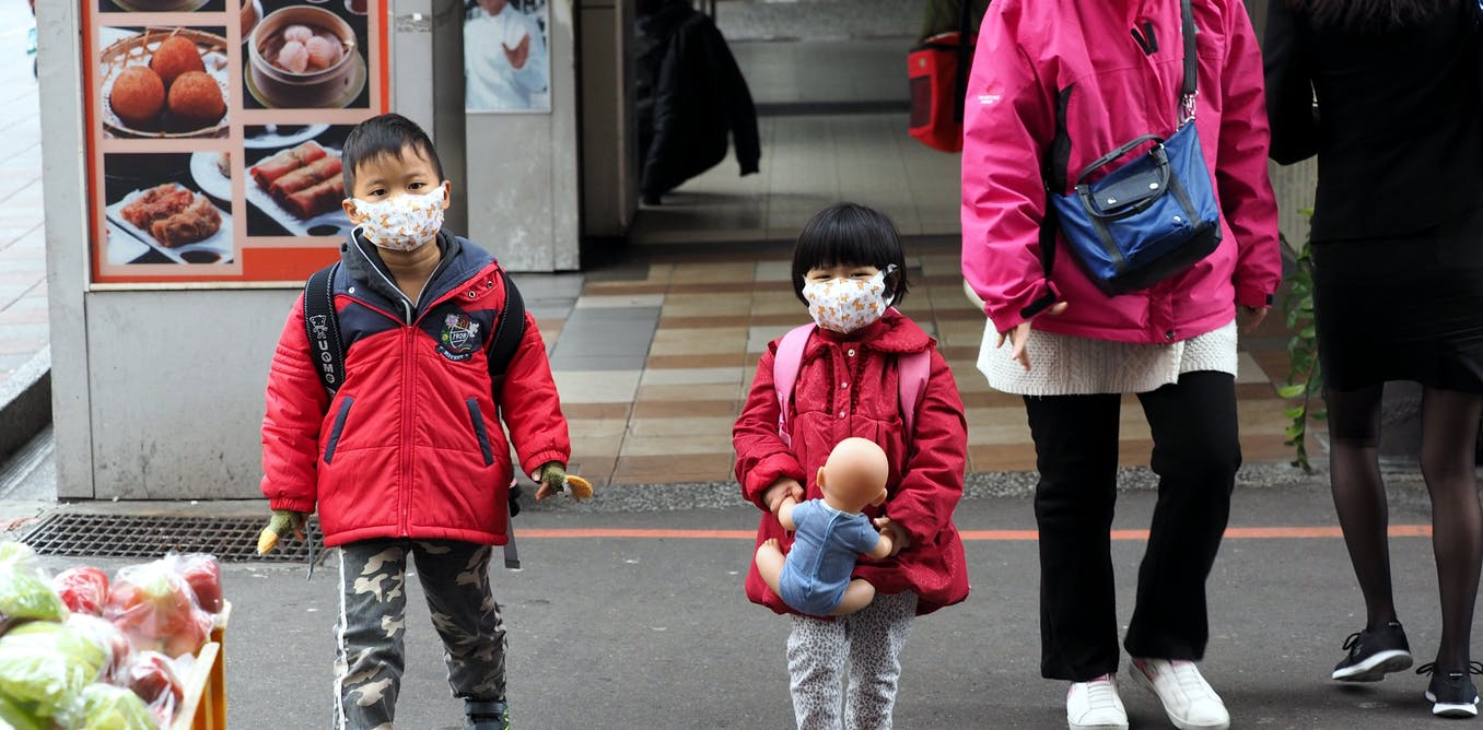 why do people in hong kong wear masks