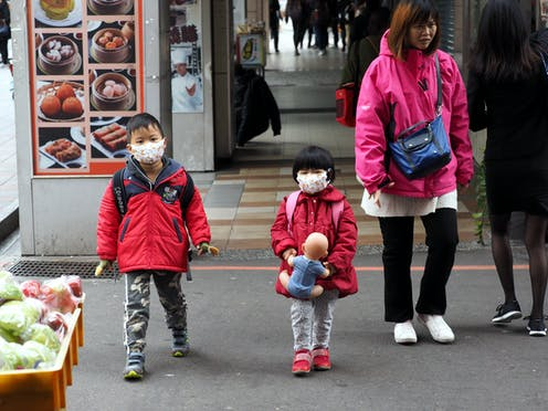 Image result for children with face masks asian cities