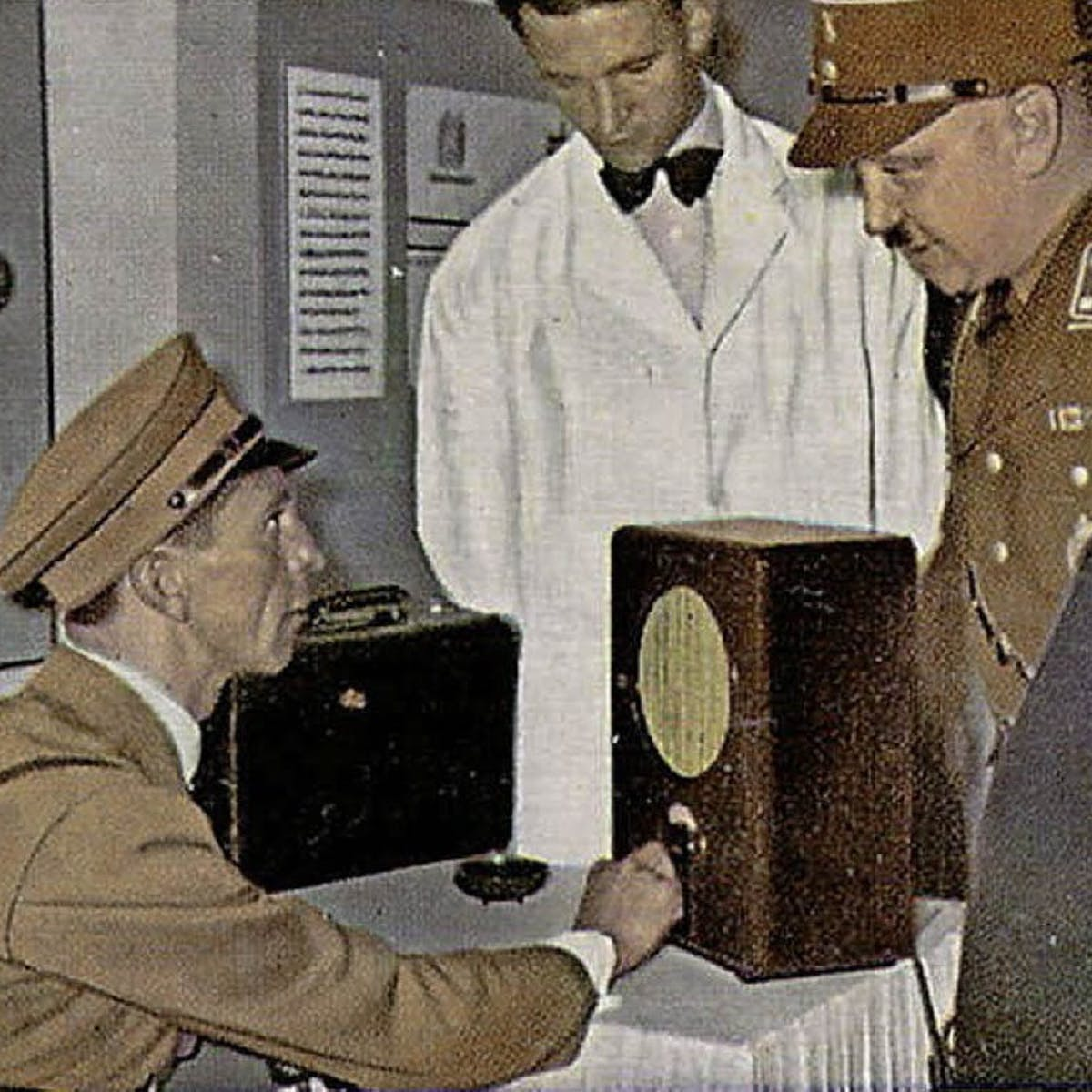 Nazis pressed ham radio hobbyists to serve the Third Reich – but
