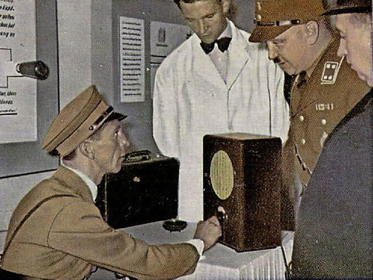 Nazis pressed ham radio hobbyists to serve the Third Reich – but surviving  came at a price