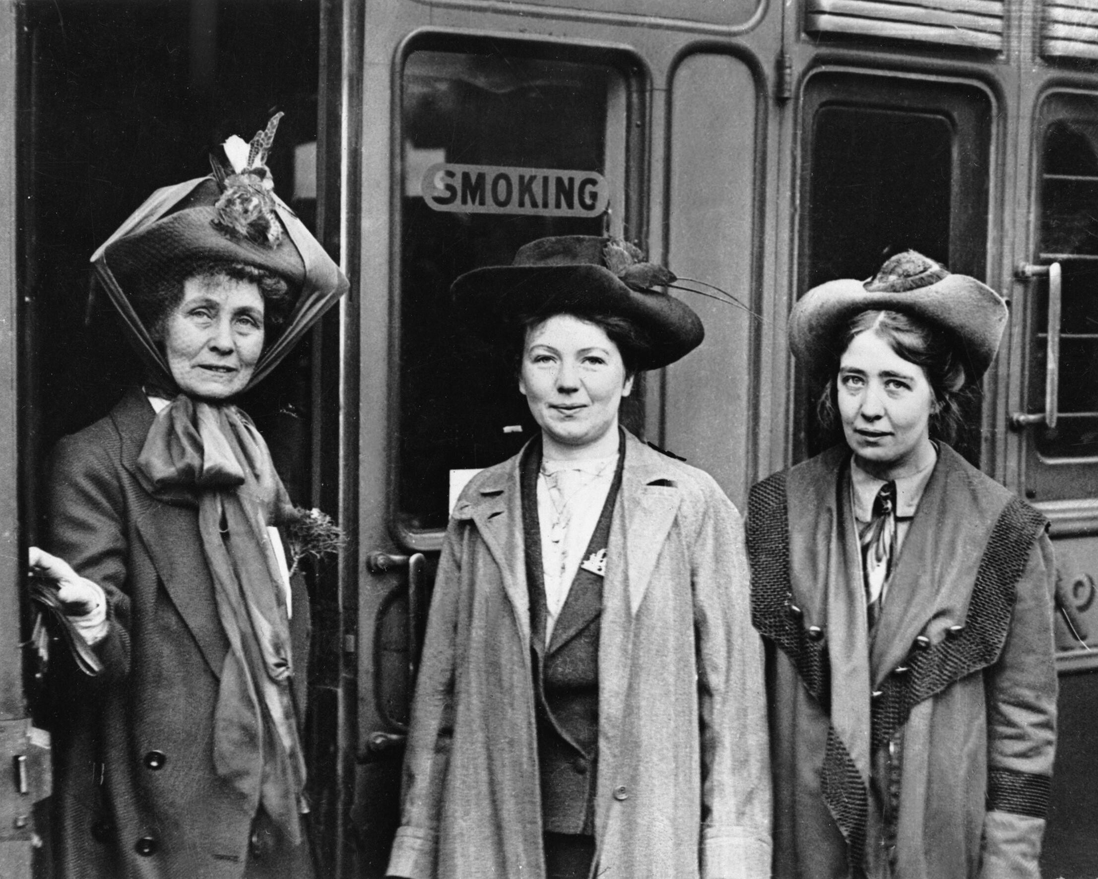 Marking 100 years since (some) women won the vote