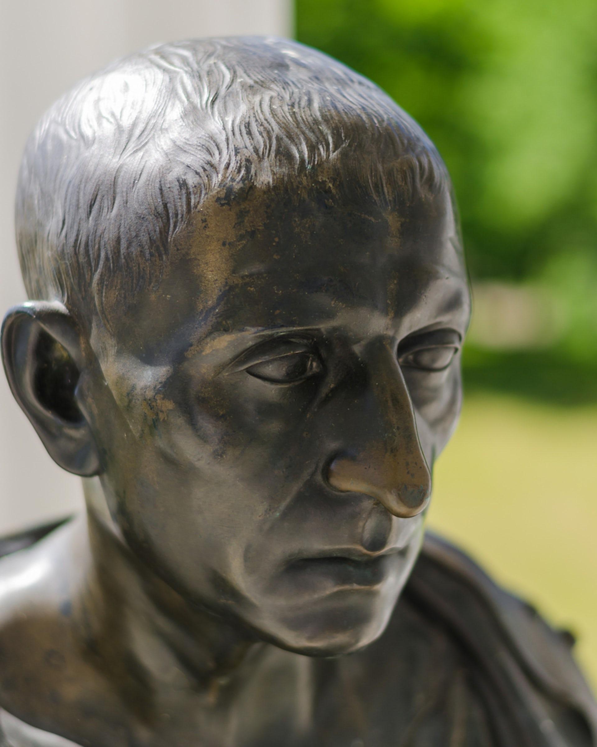 Ancient Roman politician Cicero. Shutterstock/sibfox